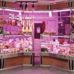 LED Tube 9W 60cm Pink Special Butchers