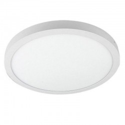 Plafón LED circular Superficie  30W 120º- Interior