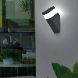 8W LED Wall light circular BONN Outdoor
