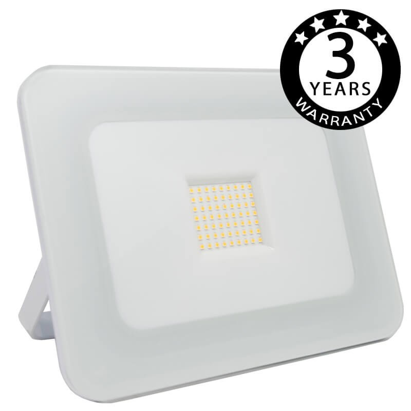 LED Outdoor Floodlight Luxury 50W White 120Lm / W