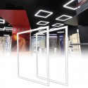 FIT Panel LED 60x60 cm 40W Marco Luminoso Blanco