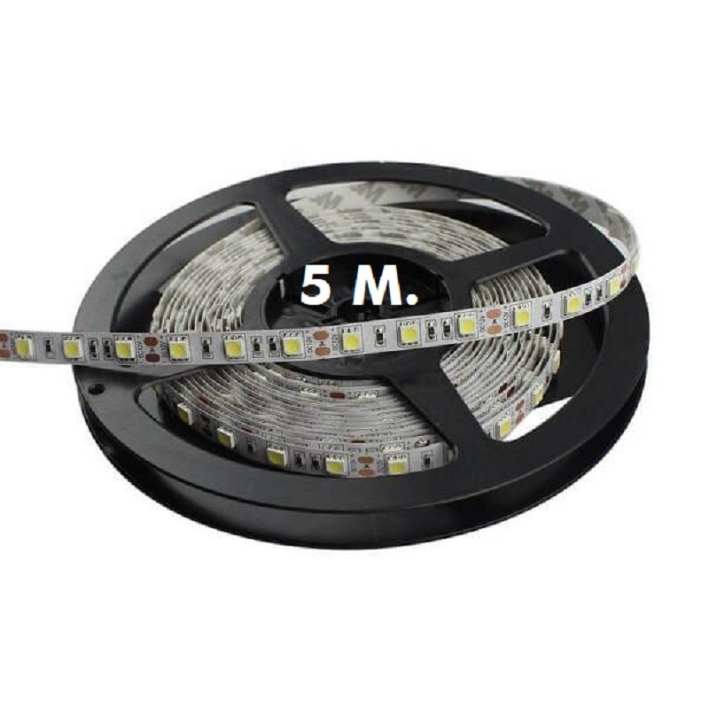 Tira LED Flexible Interior 14.4W*5m - 5050 - 12V