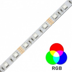 Fita LED Interior RGB 14.4W*5m - 24V