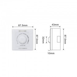 200W Triac LED Dimmer with + IR Remote Control