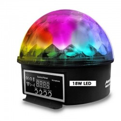 Magic Mini Esfera Star LED 18W DMX