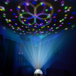 18W led Magic Ball Mini Star  DMX