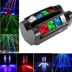 Double LED Moving Head 24W KENTUKY DMX Bar