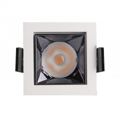 Downlight LED - 5W - Carre  - 18°