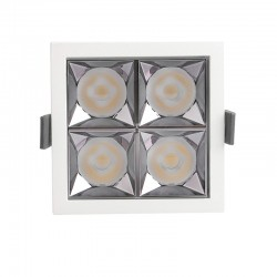 Empotrable LED 20W  OSRAM Chip  24º UGR17 140lm/W