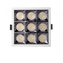 Empotrable LED 40W OSRAM Chip 24º UGR17 140lm/W