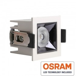 Empotrable LED 5W OSRAM Chip PALACE 24º UGR17 140lm/W