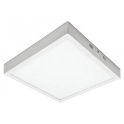 Plafón LED Superficie Cuadrado Blanco 30W 120º - IP20 Interior