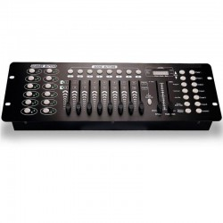 Quizás quisiste decir: Mesa Controladora para Iluminación DMX 512Control Panel for Lighting DMX512 -192 channels