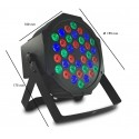 PAR 18 LED spotlight DMX MONTANA 20