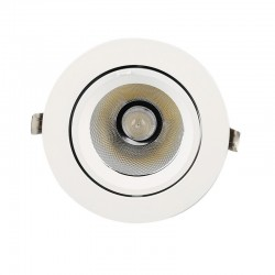 25W Round Adjustable LED Spotlight 24º  3000K-4000K-6000K