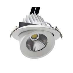 Foco Empotrable Orientable LED 25W 24º 3000K-4000K-6000K