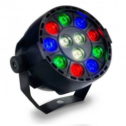 36W LED Mini PAR Spotlight  MONTANA RGB + White - DMX