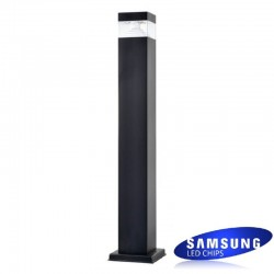 8W LED Bollard Rectangular 60cm Outdoor