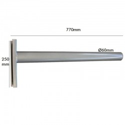 Arm streetlight  model Tubular 77cm