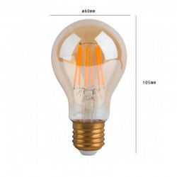 7W LED Bulb Filament E27 A60 dimmable