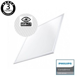 LED Panel 60x60cm 44W UGR17 - Driver Philips