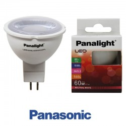 Dicróica LED 7W MR16 Panasonic Panalight