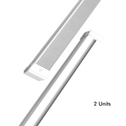 28W Turner Linear Bar  LED - KIEL DYNAMICS - for Technical Ceilings - Pack 2 units