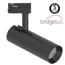 LED Tracklight 30W BERNA Black Chrome Single-phase Track DOB Driverless