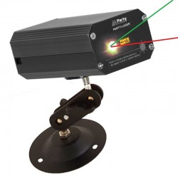 Mini Laser Black  - 2 Colors - Green and Red