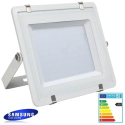 LED Outdoor Floodlight  White SAMSUNG 100W IP65 Elegance 120Lm/w