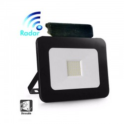 LED Outdoor Floodlight 20W LED Luxury RADAR Black
