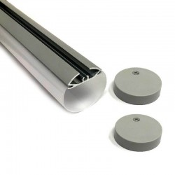 Aluminum Profile TUBE  Model - 2 Meters