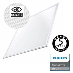 Panel LED 60x60 44W Driver Philips UGR17 - 5 años Garantia
