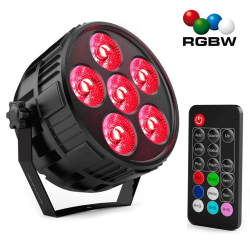 Projecteur  Mini PAR LED 36W MONTANA  RGBW