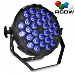 Projecteur LED 300W DALLAS PRO RBG+W 4 in 1 DMX