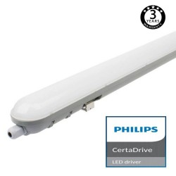 Regua Estanca LED  integrado 20W PHILIPS CERTA DRIVER 60cm