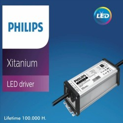 LED 100W Industriestrahler XITANIUM Driver Philips UFO IP65