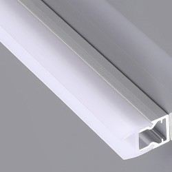 Aluminum profile GLASS - 2m