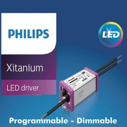 Apparecchio LED Stradale 10W - 100W ETNA Philips Driver Programmabile SMD5050 240Lm/W