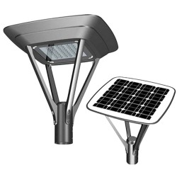 Solcelle gadebelysning LED 20W MILAN SMD5050 240Lm / W