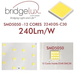 240W Floodlight LED MATRIX Bridgelux Chip - 240Lm/W - 20º