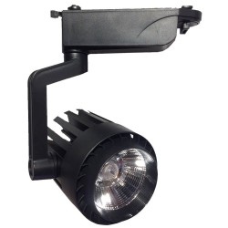 LED Tracklight 30W  NORA Black