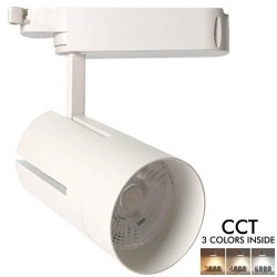 LED Tracklight 30W VIENNA White -CRI +85 CCT