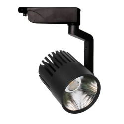 LED Tracklight 40W PISA Black