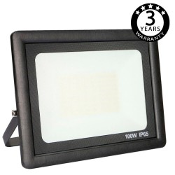 Foco Proyector Exterior Negro LED 100W ACTION IP65
