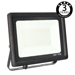 Foco Proyector Exterior Negro LED 50W ACTION IP65