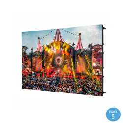 LED Screen  commercial display Indoor Fixed Series Pixel 5 RGB Full Color 64x48cm - Stackable Module-