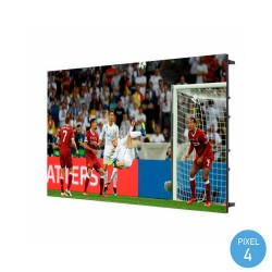 LED Screen  commercial display Indoor Fixed Series Pixel 4 RGB Full Color 64x48cm - Stackable Module-