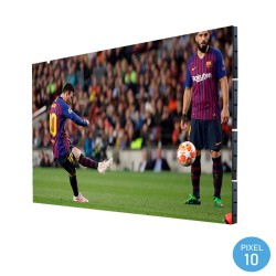 LED Screen commercial display Outdoor Fixed Series Pixel 10 RGB Full Color 3.68m2 - (20 Modules + Control) -