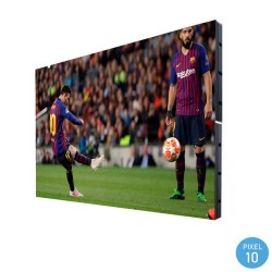 LED Screen  commercial display Outdoor Fixed Series Pixel 10 RGB Full Color 3.68m2 - (4 Modules + Control) -